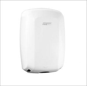 Machflow Plus hand dryer white