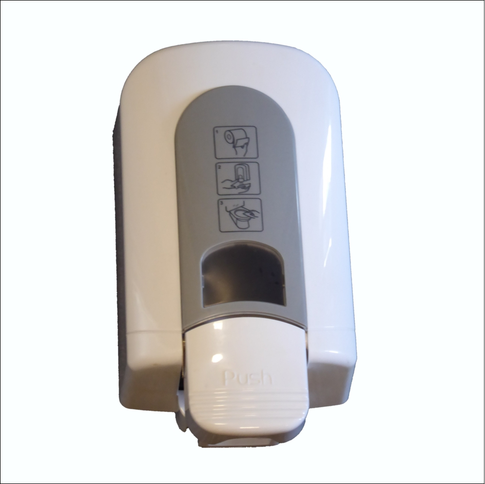 Sanitiser Dispenser SD-165R-T Toilet Seat 600ml