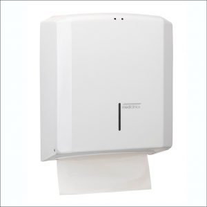 Paper Towel Dispenser DT2106 White Steel