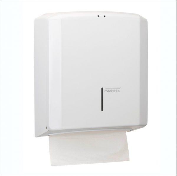 Paper Towel Dispenser DT2106 White Steel
