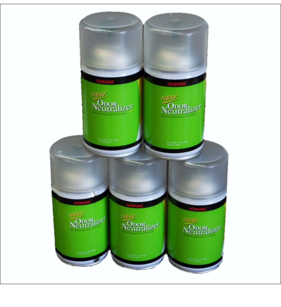 Washroom Products: Aerosol Fragrance Cans Newaire 3400 Shots