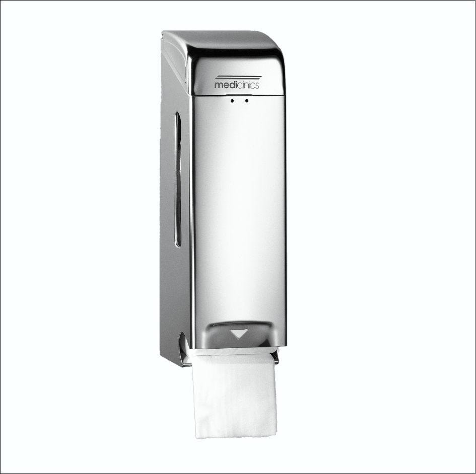Toilet Roll Dispenser PR0781CS SS Satin 3Roll