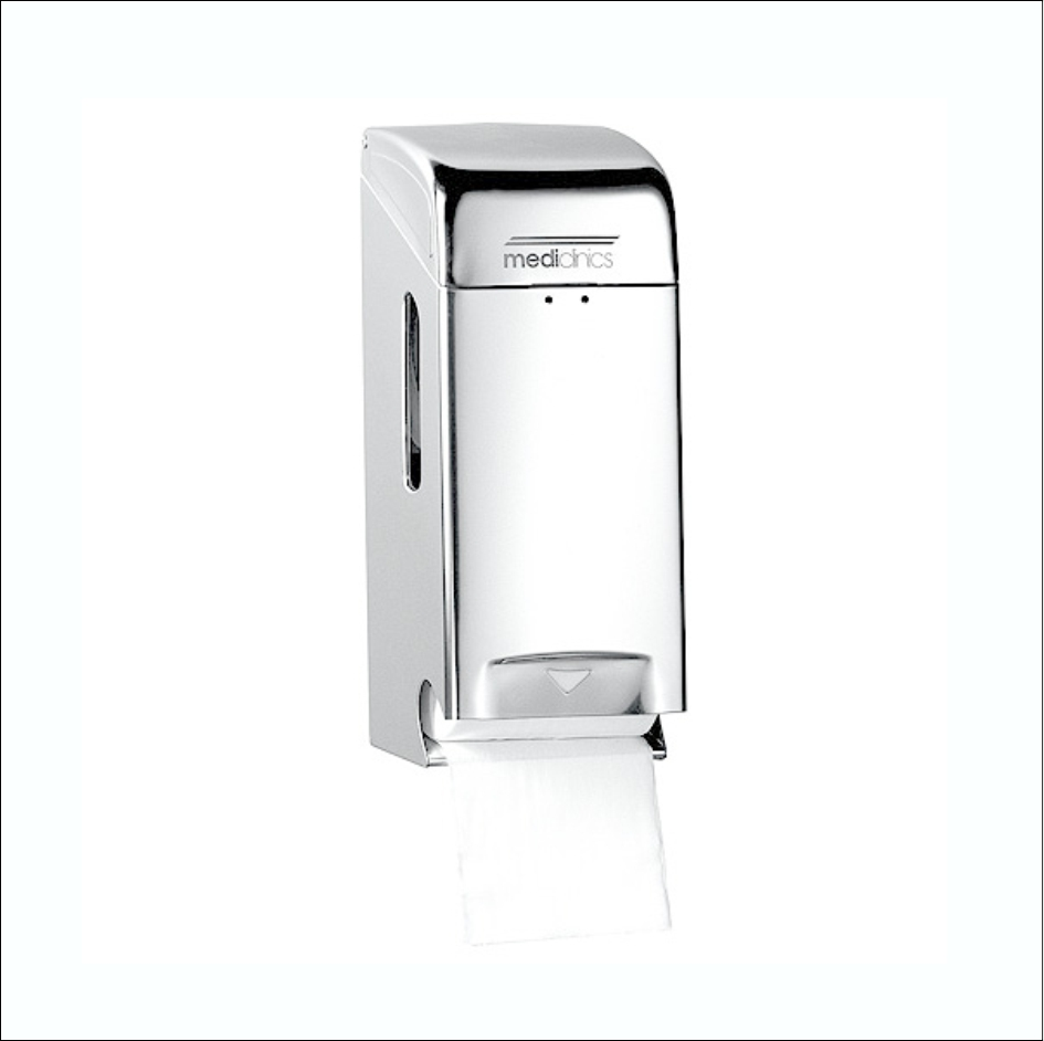 Toilet Roll Dispenser PR0784C SS Bright 2Rolls