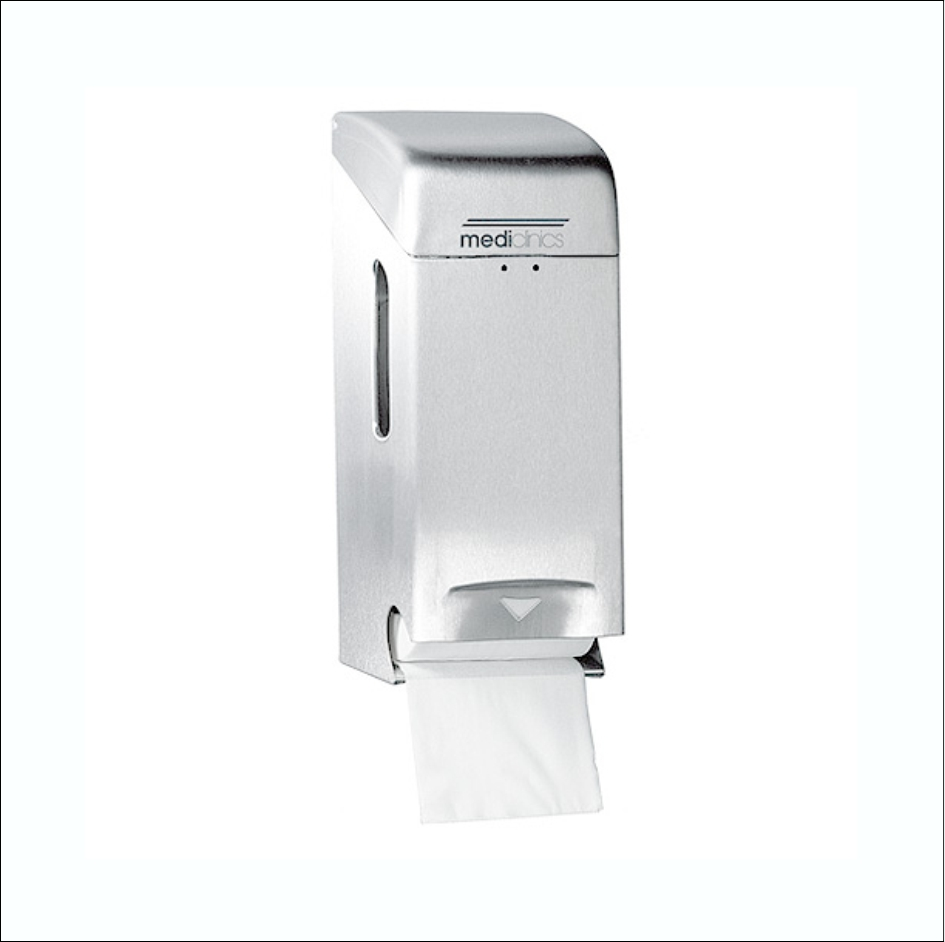 Toilet Roll Dispenser PR0784CS SS Satin 2Roll