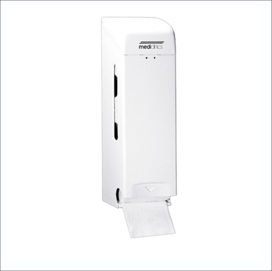 Toilet Roll Dispenser PR0781 White 3Roll