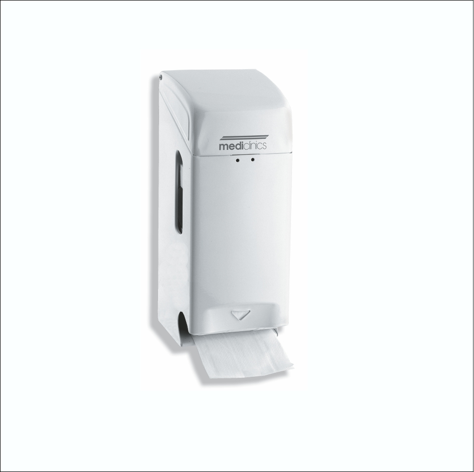 Toilet Roll Dispenser PR0784 White 2Roll