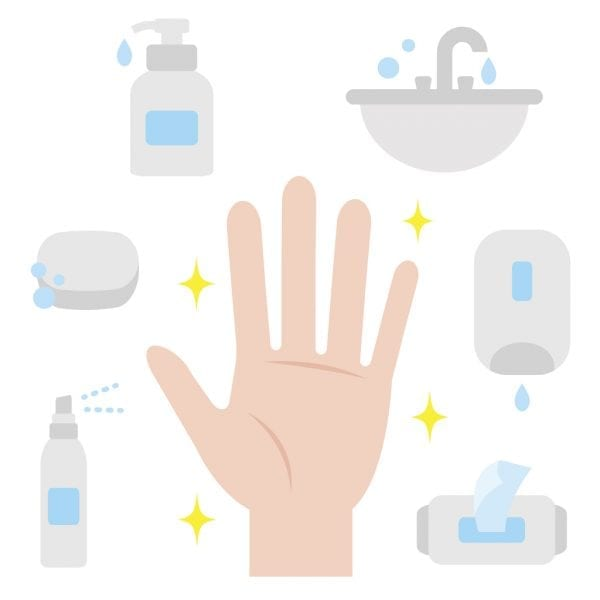 keeping your hands clean