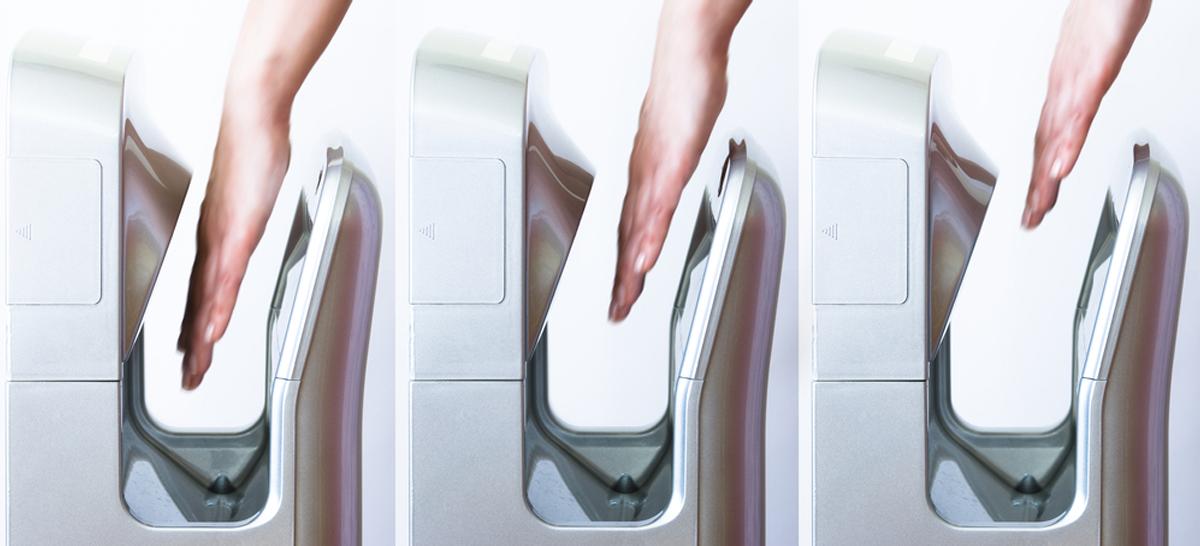 installing hand dryer