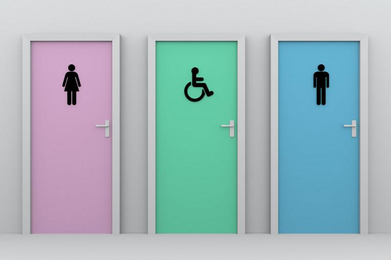 Comfort Room Doors Signage