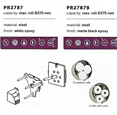 Three roll conversion kit PR2787